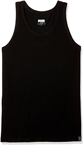 United Colors of Benetton Men's Cotton Vest (011DI_X-Large_Black)-100