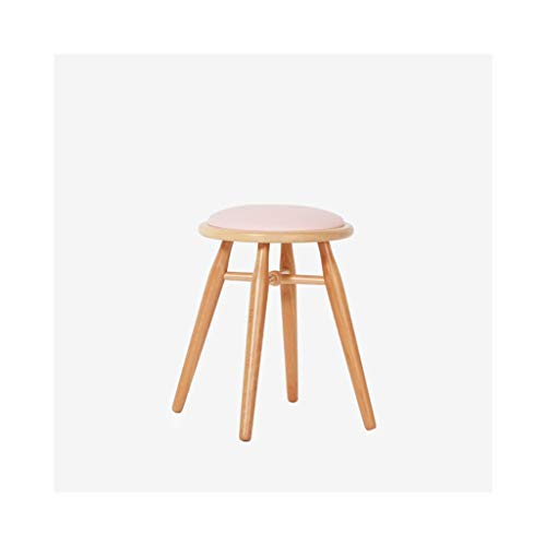 AIDELAI Bar Stool Chair- Nordic Beech Solid