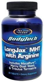 BodyTech - LongJax MHT With Arginine, 60 tablets