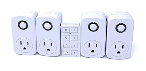 Price comparison product image Black Friday Deal: Prime Wireless Indoor Remote Controlled Outlets (100ft Range)