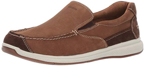 Florsheim Kids Boys' Great Lakes Jr. Moc to Slip On Loafer Stone 6 M US Big Kid ()