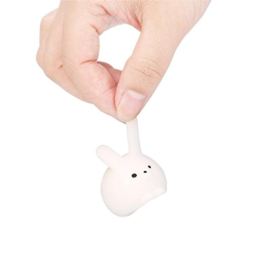 WINWINTOM Blando Squishy Mini Fat Conejo Curación Apretón Abreact Diversión Broma Regalo Rising Toys Juguetes (Rosa) UGIKjWPh2