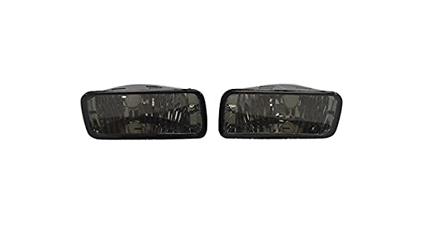 DEPO Clear Front Bumper Signal Light Pair For 1985-1992 Chevrolet Chevy Camaro