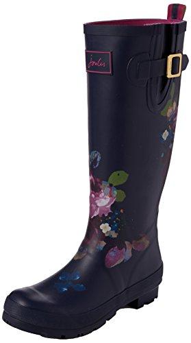 Joules Pluie Bleu wellyprint Femme Floral Bottes exclusive Amazon De Exlamfl T rqxr6InCwR