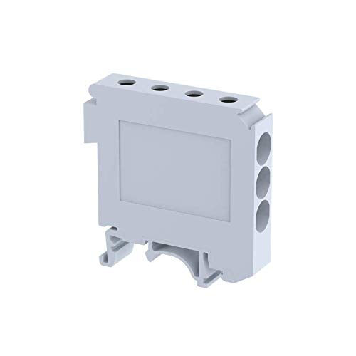 Elmex LPT 325 – Polyamide Lighting pole terminal block for 1 incoming and 3 outgoing and universal foot, suitable for 25 sq.mm/101 Amps, (Pack of 10) Price & Reviews