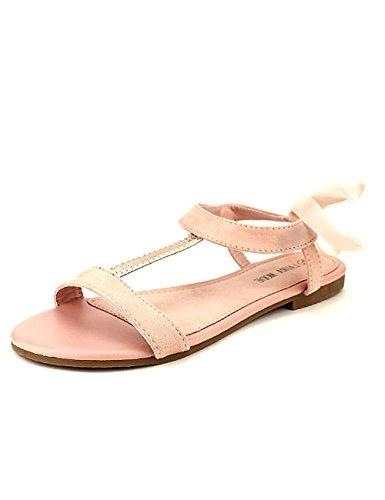 Poudré Rose Chaussures Femme Cendriyon Mode Sandale Laura H1nEf