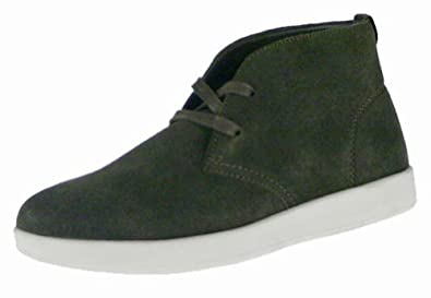 cadillac footwear gareth mens suede lace up