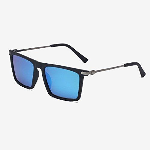 Personales Hombres C Gafas Conductor Hipster Color De Del Masculino Polarizador D Controlador Cuadradas Masculino Gafas GAOYANG Ojos Sol Conducción Gafas xAHwap7