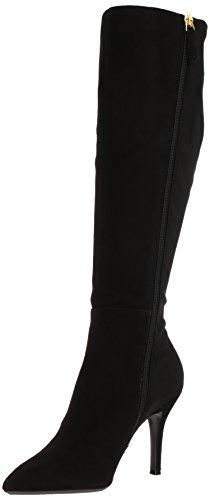Nine West Women's Fallon, Black Suede, 6.5 Medium - Nine Boots West