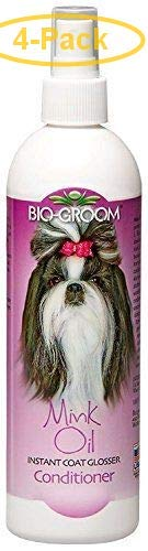 Bio-groom Mink Oil Spray 12 oz - Pack of 4