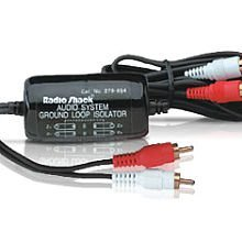RadioShack Audio System Ground Loop Isolator (Electric hum noise reducer) - Rca Ground Loop Isolator