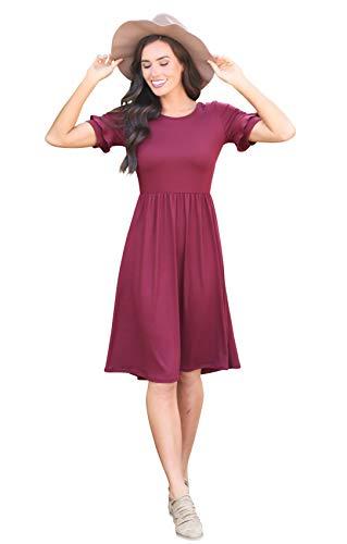 ce6de3fd2d9 Mikarose  Nessa Modest Dress or Modest Bridesmaid Dress