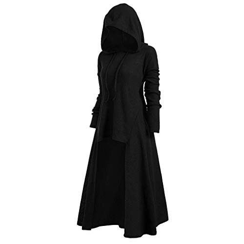 Ximandi Womens Vintage Assassin Cloak Hoodies Novelty High Jag Hooded Pullover Top Blouse ()