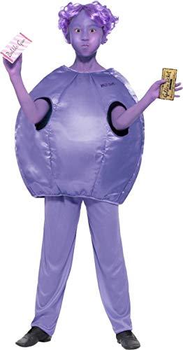 Roald Dahl Deluxe Violet Beauregarde Costume Medium Age 7-9 ()