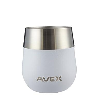 AVEX Claret Wine Glass, 13oz, White