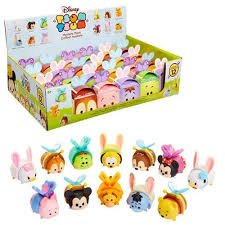 Tsum Tsum Mystery Pack Spring 2018 Easter Edition - 1 Medium Figure with Headband
