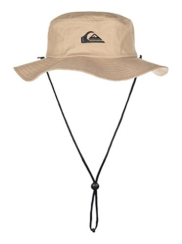 Quiksilver Men's Bushmaster Floppy Sun Beach Hat, Khaki3, Large/X-Large