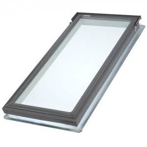 "Velux Fsd062004 Fixed Deck Mount Skylight, Lam Glass, 22-1/2""W X 45-3/4""H"
