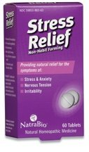 Natrabio Stress Relief Tablets, 60 Count
