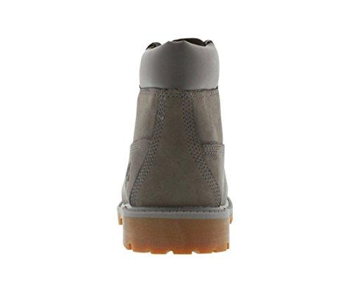 Timberland Jeunes Gris 6 Inch Premium Waterproof Bottes