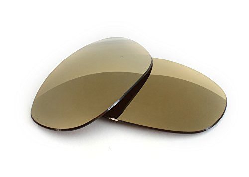 FUSE Lenses for Wiley X Arrow Bronze Mirror Tint Replacement Lenses