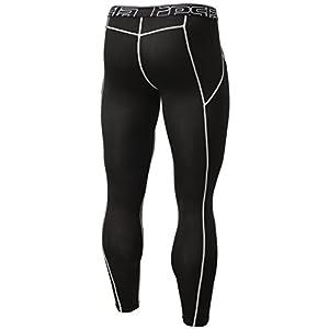 TM-YUP33-KLG_Large Tesla Men's Thermal Wintergear Compression Baselayer Pants Leggings Tights YUP33