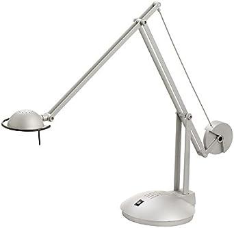 Desk Lamp Adjustable Dual Arm Wall Mount Brightness 1 X Gy 6 35 50 W Halogen Light Bulb Lamp 1 Spare Bulb Amazon De Beleuchtung