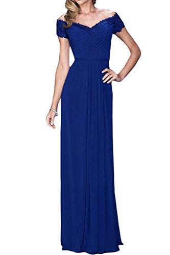 der A Promkleid von Ab Damen Linie Ivydressing V Royalblau Ausschnitt Schulter Abendkleid Partykleid ntUXqWBBw
