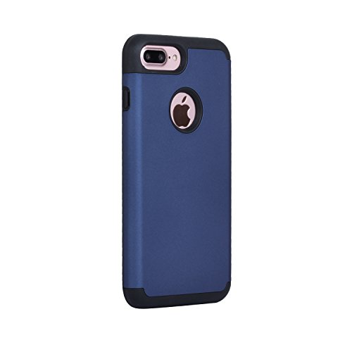 iPhone 7 Plus Case, Beimu 2in1 Hybrid Hard Cover for iPhone 7 Plus Printed Design PC+ Silicone Hybrid Highly Durable Shock-Absorption Impact Defender Case Combo Hard Soft Cases Covers