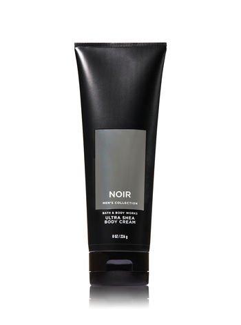 Bath and Body Works Noir Men s Collection 3 Piece Set Includes 3.7 oz Deodorizing Body Spray, 8 oz Ultra Shea Body Cream, 10 oz 2-IN-1 Hair Body Wash