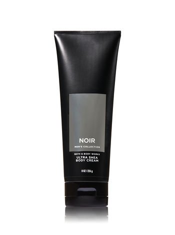 Bath and Body Works Noir for Men Ultra Shea Body Cream 8oz Tube by Bath & Body Works