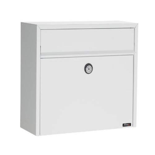 Qualarc ALX-LT150-WHT Allux Series Wall Mount Mailbox, White