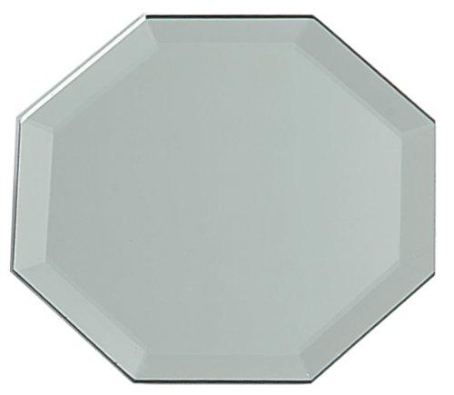 (Darice Beveled-Edge Octagon 12 inches Mirror Gray)