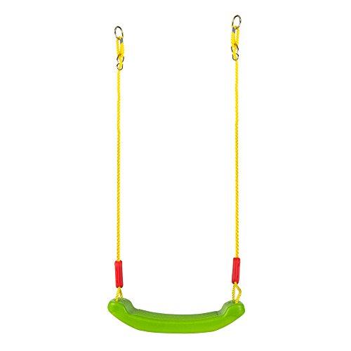 31T%2B5sPNjqL. SS500 Columpio de plástico CB Toys Con 2 cuerdas de poliéster de 175 cm cada una Cuerdas regulables y super resistentes