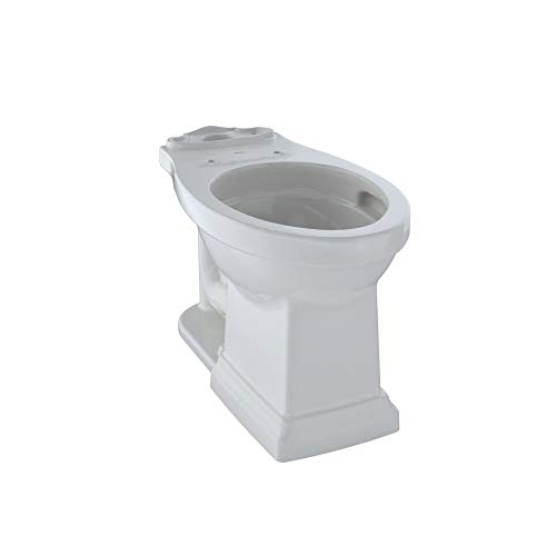 Toto C404CUFG#11 Promenade II Toilet Bowl Unit Only With Cefiontect, Colonial White