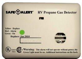 Safe T-alert Flush Mount (Safe-T-Alert Mini Flush Mount Series LP Gas Alarm by MTI INDUSTRIES)