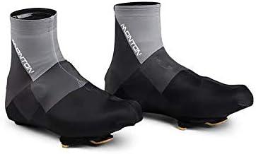 シューズカバー 機器屋外の道路の自転車のロックマウンテンバイクの靴のダスト靴に乗って男性と女性 防風性と防水性 (Color : Red, Size : 45)