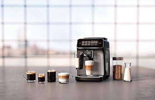 Philips EP3246/70 Machine à Café Automatique Expresso Séries 3200 LatteGo Argent
