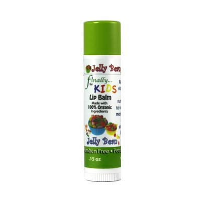 Finally Pure - Jelly Bean Lip Balm for Kids - All ORGANIC In