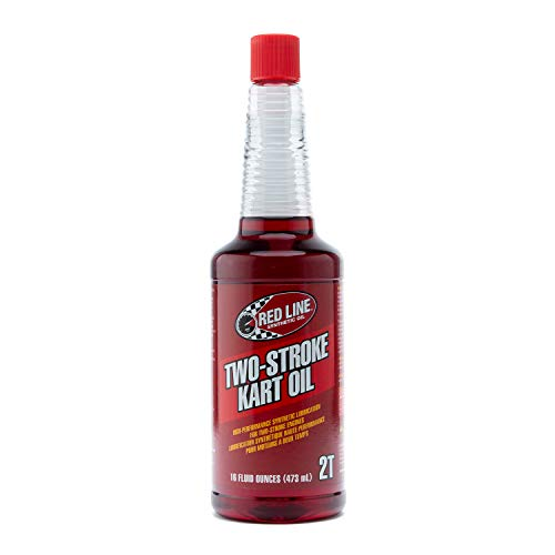(Red Line Two-Cycle Kart Oil - 16 oz. (Case 12 Bottles))
