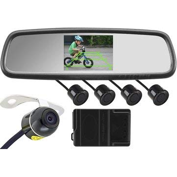 4.3 Inch Car Rear View Mirror + Butterfly
