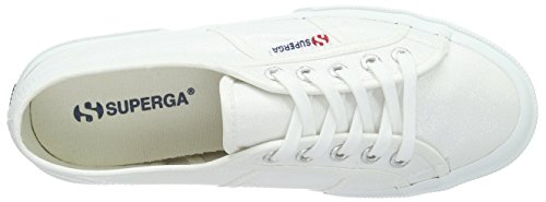 Blanc 2750 Superga Femme Baskets White lamew Basses X8a8qwT6An