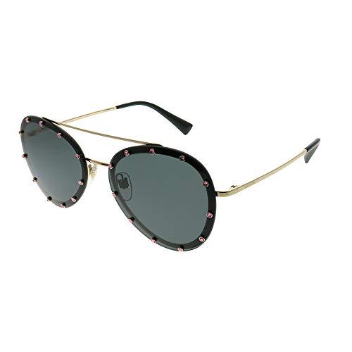 Valentino VA 2013 PALE GOLD/GREY 58/16/140 women Sunglasses