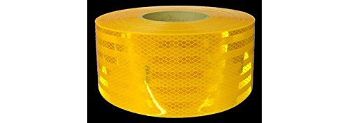 3M Diamond Grade 983-71 ES Yellow Reflective Tape - 1 in Width x 0.014 to 0.018 in Thick - 30887 [PRICE is per ROLL]