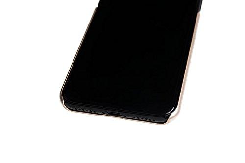 Spada 4052335032559 Brushed Alu Cover für Apple iPhone X gold