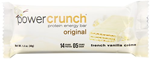 Power Crunch Bar, French Vanilla Cream, 1.4 (Extreme Vanilla Extract)