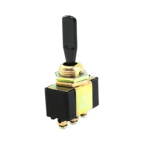 AC 2A/250V SPDT ON/OFF/ON 3 Ways Latching Toggle Switch DealMux DLM-B00DUYY8R4