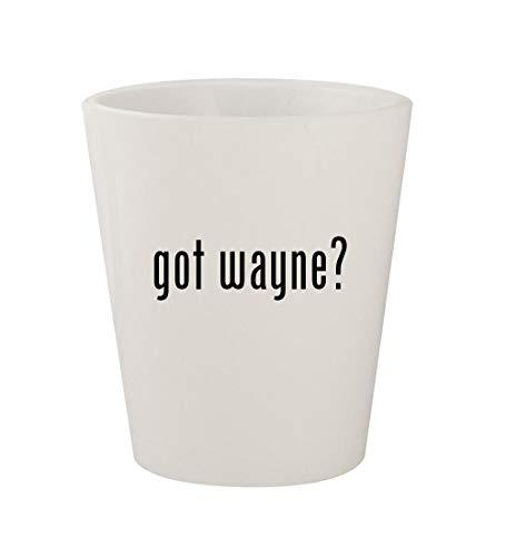 got wayne? - Ceramic White 1.5oz Shot Glass