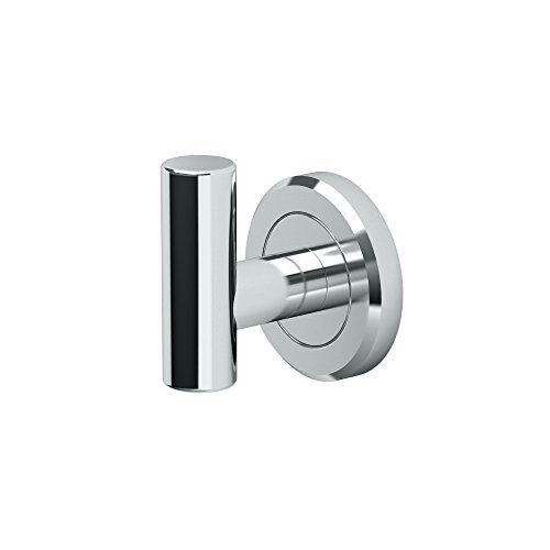 Gatco 4245 Latitude II Single Robe Hook, Chrome (Hook Hook Single Robe)