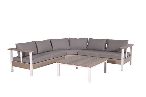 Garden Impressions 4-teilige Lounge Gartenmöbel Sitzgruppe Hobart ...